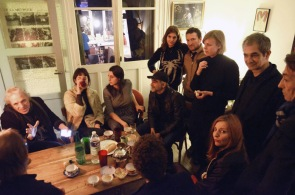 All the gang in Montreuil rue du ruisseau/ at Fabrique des Illusions